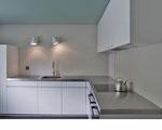 Einbauküche mit Aluminium Abdeckung