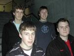Mathias, Martin, Rolf, Yannik