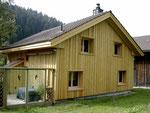 Ferienhaus, Fassade, Fenster, Türen, Böden, Wände, Decken
