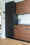 Kühlschrank mit integriertem Gefrierteil unten