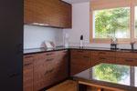 Designerküche Nussbaum furniert