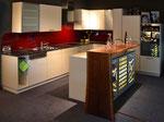 Einbauküche mit Rüstinsel