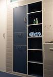 Designerbadmöbel in den Bewohnerzimmern des Neubaus Stütlihus