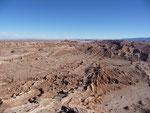 Valley of the Moon near San Pedro de Atacama, Chile