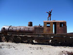 Train cementary near Uyuni.