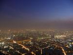 Santiago by nighttime