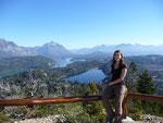Great views from Cerro Campanario mountain in Bariloche