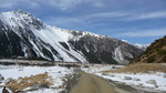 Scenic drive to Mt Cook