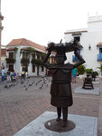 Cartagena, The beautiful old colonial part of the city