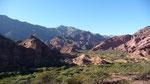 Beautiful landscape around Salta
