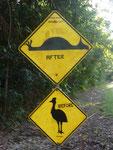 Funny australian road signs