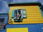 Funny houses in La Boca, Buenos Aires