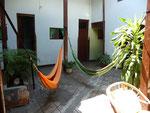 San Gil, My hostel. Colombians love hammocks... and so do I