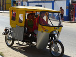 These funny taxis you can find everywhere in Peru