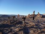 Valley of the Moon near San Pedro de Atacama (Chile)