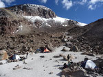 Our base camp on 5300m