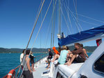 Our sailing yacht