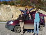 Road trip on the 7 lakes route with 2 Frenchies, Mark (Germany) and Aurelia (Lithuania)