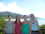Alison, me, Rio and Marijon at the Cape Tribulation lookout