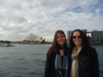 In front of the Opera House with my friend Simonne (Melbourne)