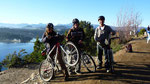 Hard-core bike tour with Dale (Canada) and Charly (Australia)