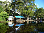 Our camp in the Pampas