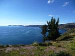 The beautiful Lake Titicaca
