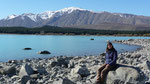 The unnaturally blue Lake Tekapo