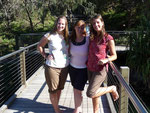 Helena (Canada), Jen (Irland) and me