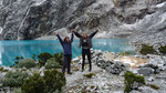 Yeah, Kristine and me finally arrived at the Laguna 69 :-)