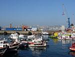 Harbour in Valparaiso