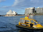 Sydney Opera House and Water Taxi