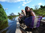 Boat trip through the Pampas