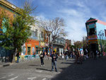 "The colourful neighbourhood of ""La Boca"" in Buenos Aires"