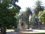The beautiful Plaza in the centre of Salta