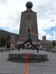 Quito, Jumping the Ecuator