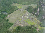 Machu Picchu from the birds eye perspective... with some imagination you can see it has the shape of a condor