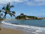 Tayrona National Parc with beautiful beaches