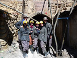 The mine tour