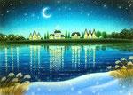 The shining night