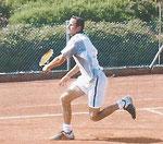 Viertelfinalist Gerhard Fahlke, Kelkheimer TEV