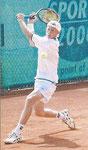 Halbfinalist Bastian Knittel, TC Doggenburg Stuttgart