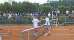 Turniersieger Alejandro Dominguez (l.) und Ales Burka