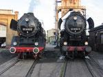 Zwei Rekoloks der Deutschen Reichsbahn.