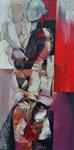 MERE A L'ENFANT 01 huile/toile 60X120 non disponible