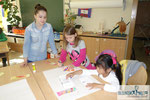 Begegnungstage Kindergarten Reding, Workshopleiterin Isolde Gollner