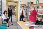 Begegnungstage in der Schulbibliothek, Franz Zraunig erzählt...