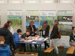 Das NABU Naturschutzzentrum Rheinauen bot viele Aktionen zum Mitmachen.