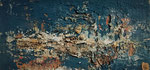 Ambiance Océane 4 Enduit acrylique sur toile 32x16cm 2019