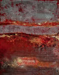 Flamboyant 2  Acrylique sur toile 40x50cm 2016